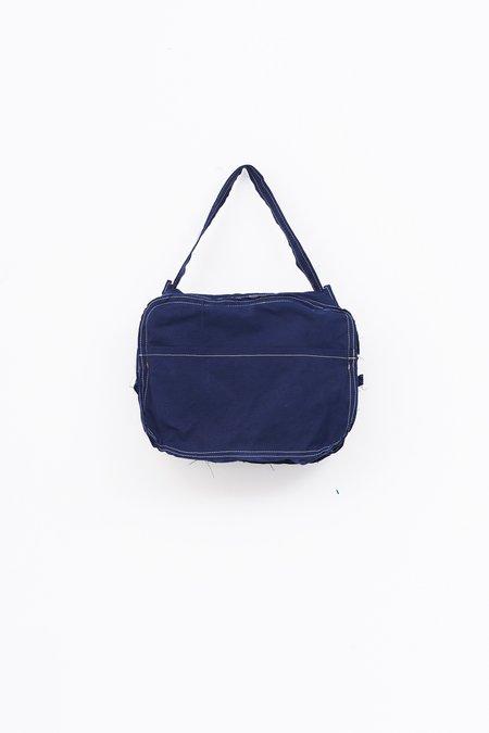 Camiel Fortgens Cotton Hand Bag - blue
