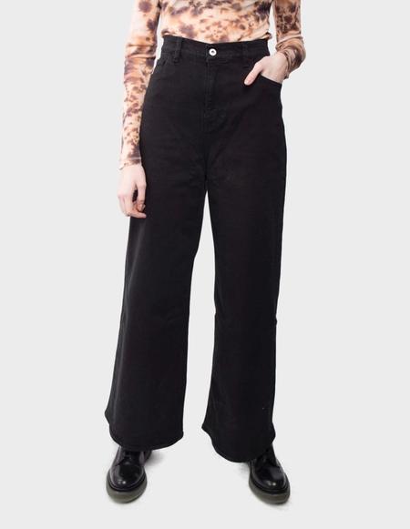 You Must Create Debbie Jeans - black