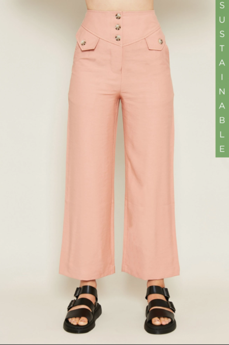 Native Youth THE SONJA PANT - Brushed Pink