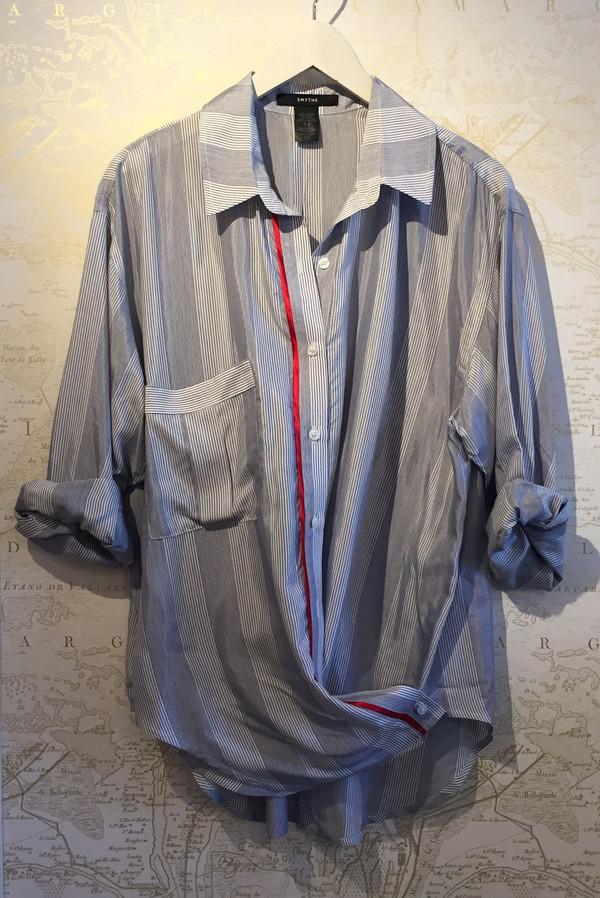 Smythe 2 for 1 boyfriend shirt