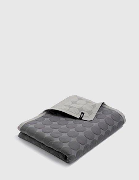 Hay Mega Dot Blanket 245 x 235cm - Dark Grey