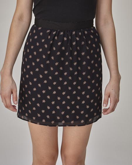 Caron Callahan Maruki Skirt in Navy