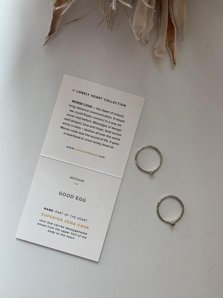 Covet + Keep 'Bad Seed & Bad Seed' Ring Set - Silver