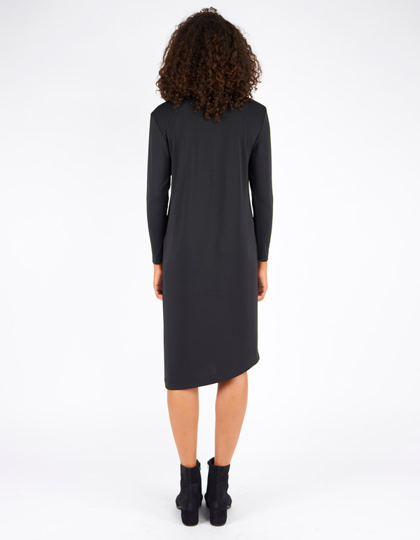 Filippa K Jersey Tunic Dress Black