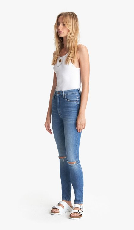 Mother Denim HIGH WAISTED LOOKER - GOLD RUSH BABY