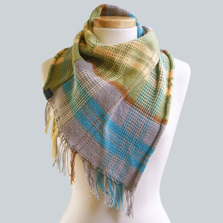 Made Wherever I Am Cotton Fringe Scarf - Coorong