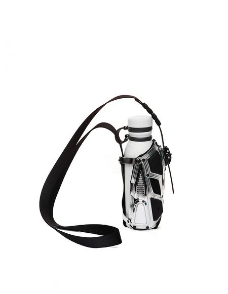 INNERRAUM I32 Water Bottle Crossbody Bag - white
