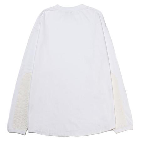 Manastash Armor Long Sleeve T-shirt - White