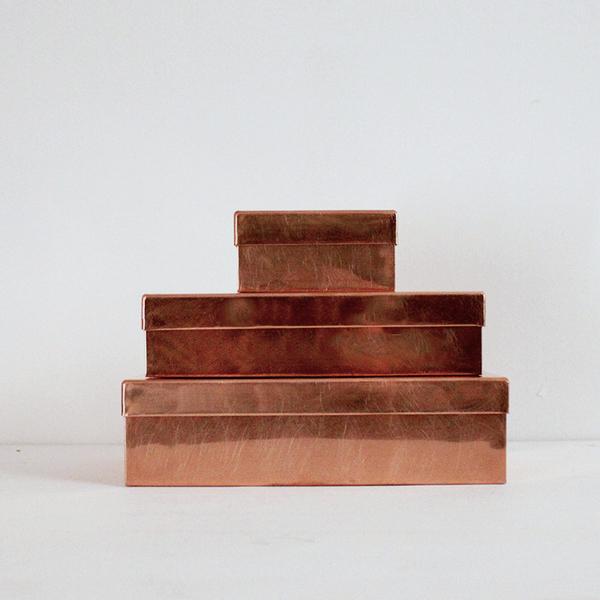 SyuRo Copper Box with Lid