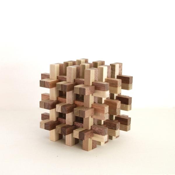 Wood Cubic Puzzle