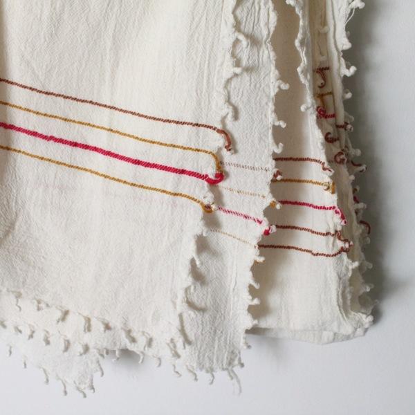 Unknown Tassel Stripe Scarf