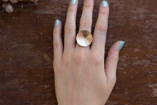 Ilsa Loves Rick Full Moon Ring