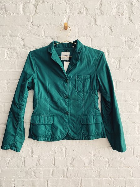 Pre-loved Aspesi Padded Jacket - Green