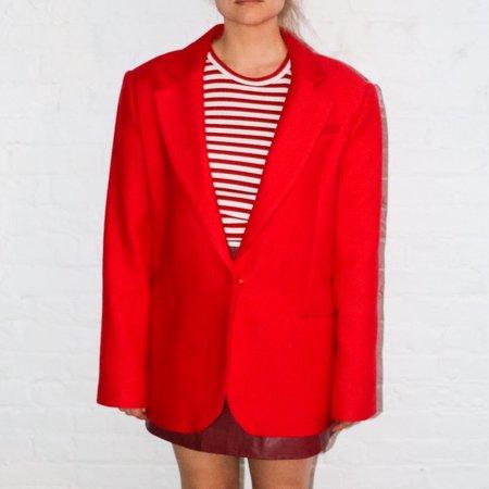 [pre-loved] Milly Oversized Blazer - red