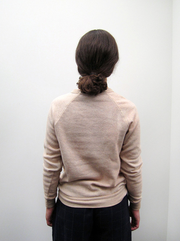 Audrey Louise Reynolds Sweatshirt, Grey with Pink