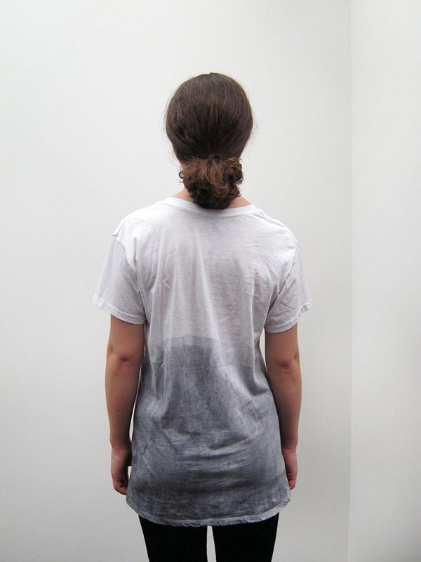 T-Shirt, Gradient Grey