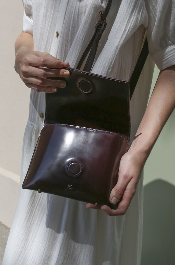 Rachel Comey Clue Bag in Bordo