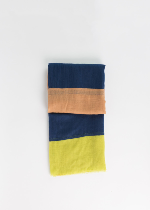 Odeeh Cashmere Panel Scarf