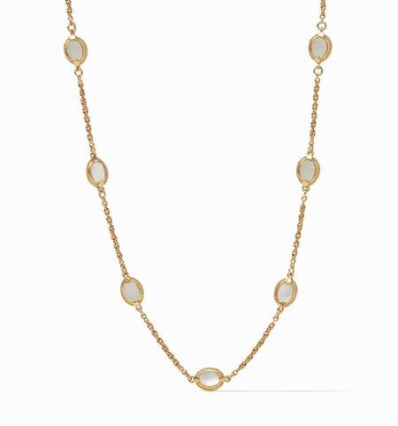 Julie Vos Calypso Demi Delicate Necklace - 24k gold plate