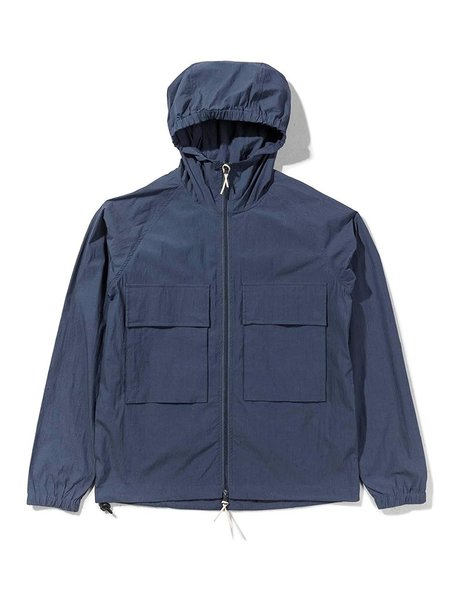 Native North Hooded Paper Jacket - Navy
