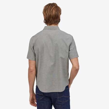 Patagonia Organic Cotton Slub Poplin Shirt - Forge Grey