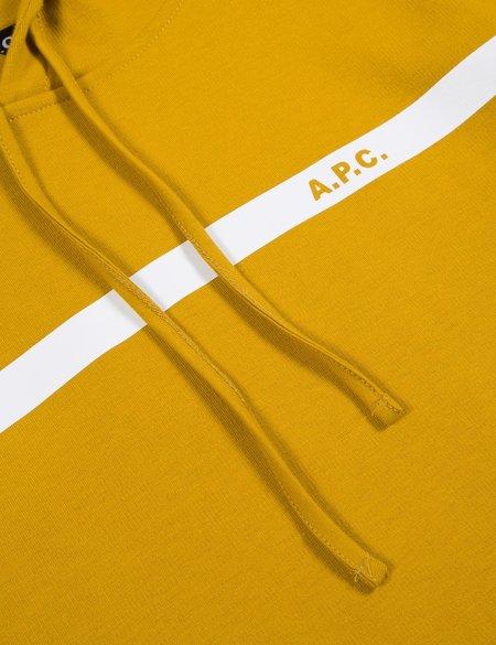 A.P.C. Caserne Hoodie - Mustard