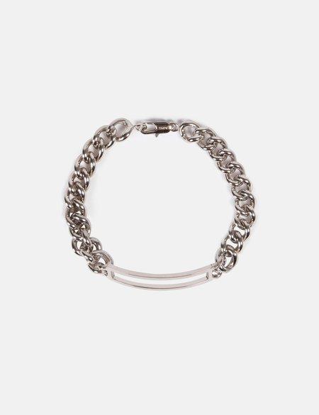 A.P.C. Leo Curb Bracelet - Silver