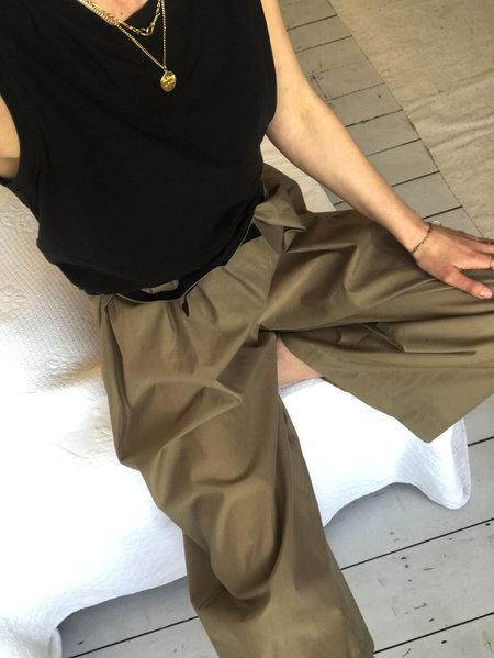 AVN Italy Wide Leg Trousers - Earth