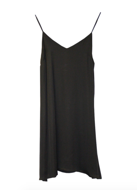 Sam + Lavi Hayley Slip Dress - Black