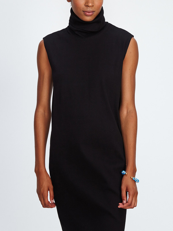 KOWTOW RIB ROLL NECK DRESS