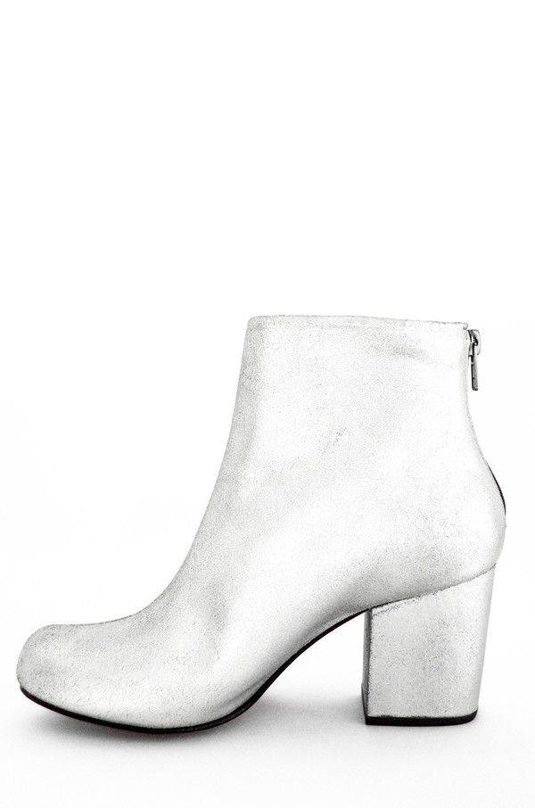 Rachel Comey Distressed Silver Tilden Boots