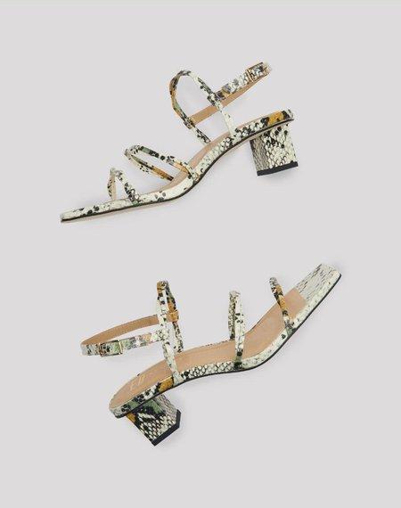 Miista Zelia Sandal - Sage Almond Snake