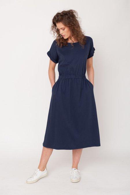 beaumont organic Marissa Organic Cotton Dress - Midnight