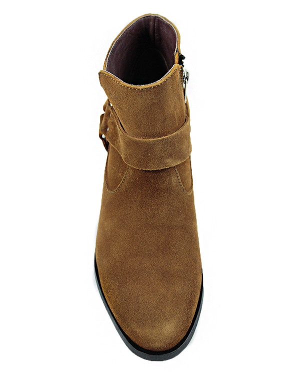 Cartel Footwear AW16 Harness Boot - Minas Suede