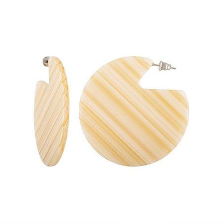 Machete Clare Earrings - Chameau Stripe