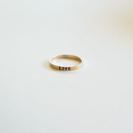 The Artist and the Alchemist Love Kassilina Ring - Goldfill