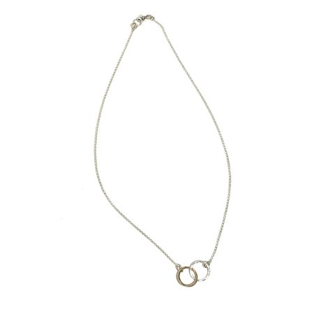 Mikel Grant Entwined Necklace - 14k gold