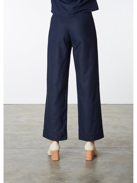 Ali Golden Silk Fly Front Pant