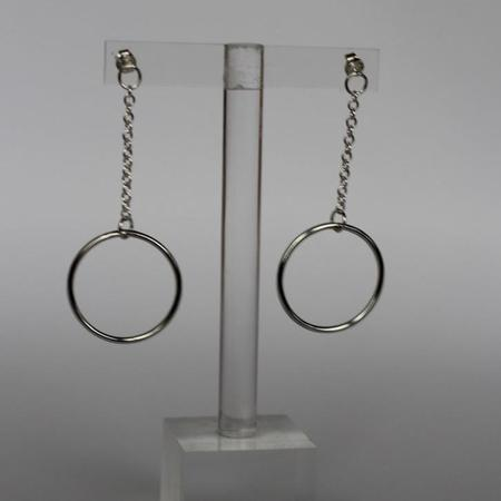Body Double Connection Earrings - sterling silver