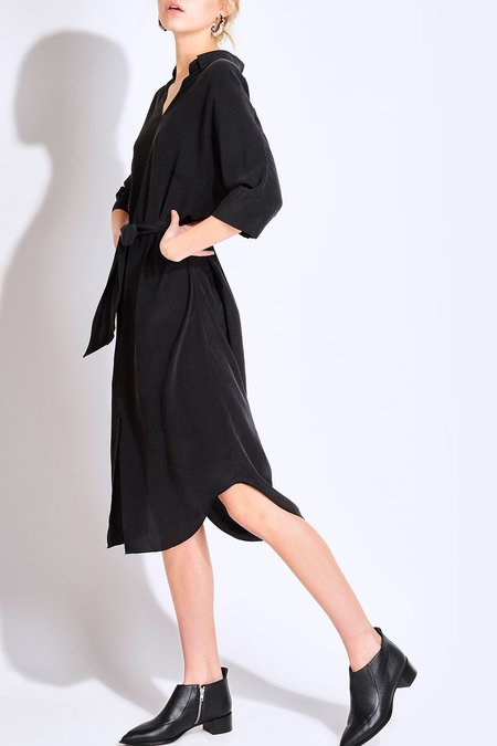 SOURCERY Byron Shirt Dress - Black