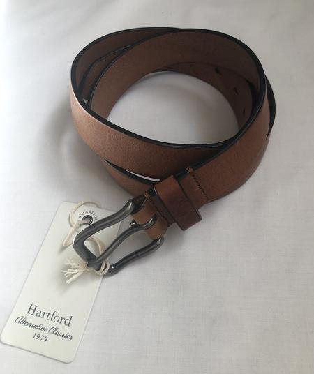 Hartford Austin Belt - Dark Brown