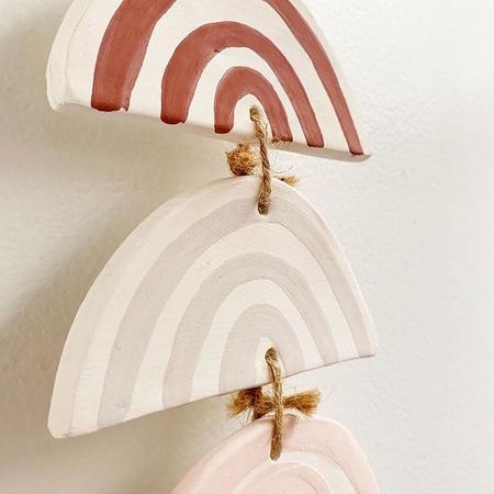 Luna Reece Ceramics Luna Reece 7 Tiered Rainbow Wall
