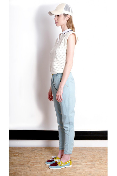 Valentine Gauthier Jourdain Pants - WASHED DENIM