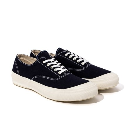 The Real McCoy's USN Canvas Deck shoes - Navy