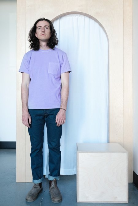 GLENN'S DENIM Slim Straight Jean - Fog Indigo