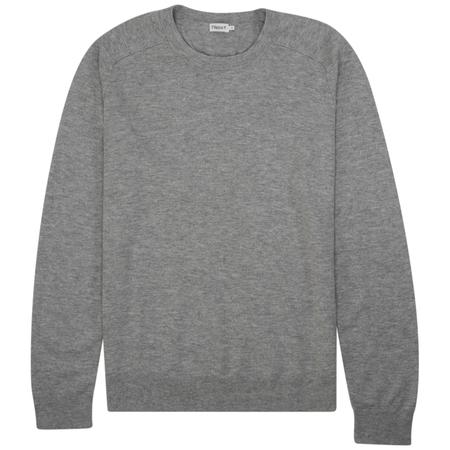 Filippa K cotton merino basic sweater - Light Grey