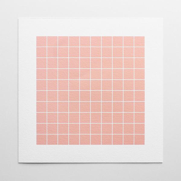 Barclay Haro Art Concepts Blush Grid