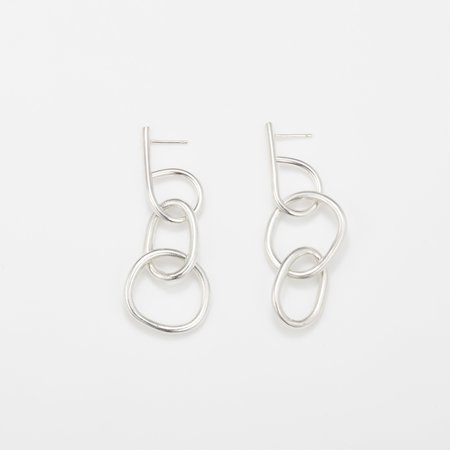 Fay Andrada Moni SM Earrings - Silver
