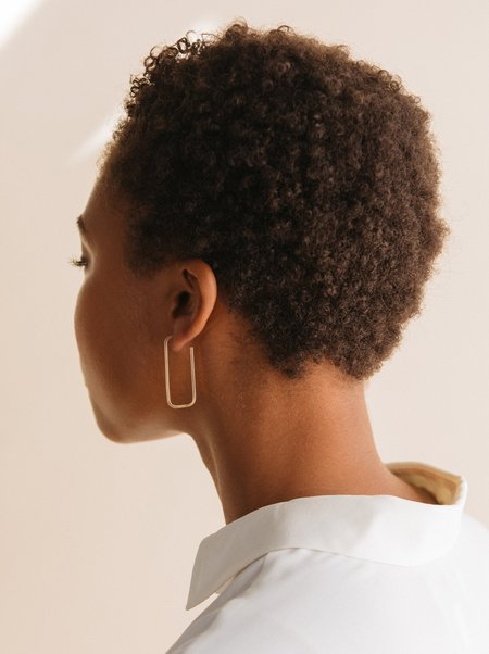 ABLE Bali Hoops - 14K Gold