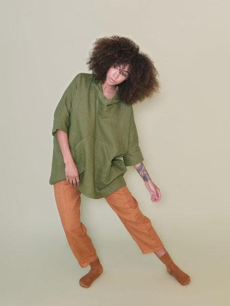 MARTY JEAN Uniform Pant in Linen